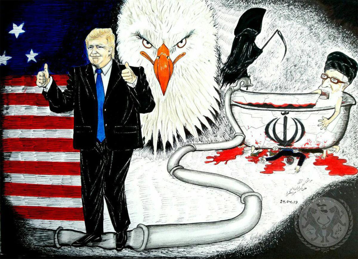 تحریم نفت توسط دونالد ترامپ