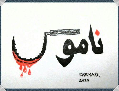 طرحی برای رومینا اشرفی دختری که جانش توسط پدرش گرفته شد