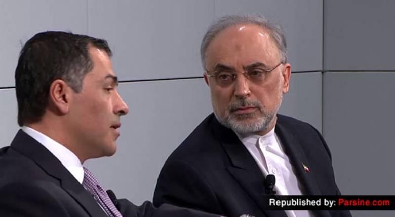 ولی نصر در کنفرانس مشترک با علی اکبر صالحی برای لغو تحریم های جمهوری اسلامی از طرف گروه پایا