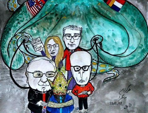 پادشاهی در گروگان ( کاریکاتور)