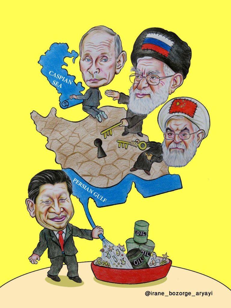 کاریکاتوری از ایران بزرگ