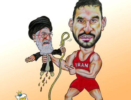 برای طناب دارشان دنبال گردن میگردند (کاریکاتوری از ایران بزرگ)