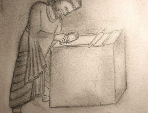دستگاه چاپ در زمان هخامنشی و راز استوانه کوروش بزرگ